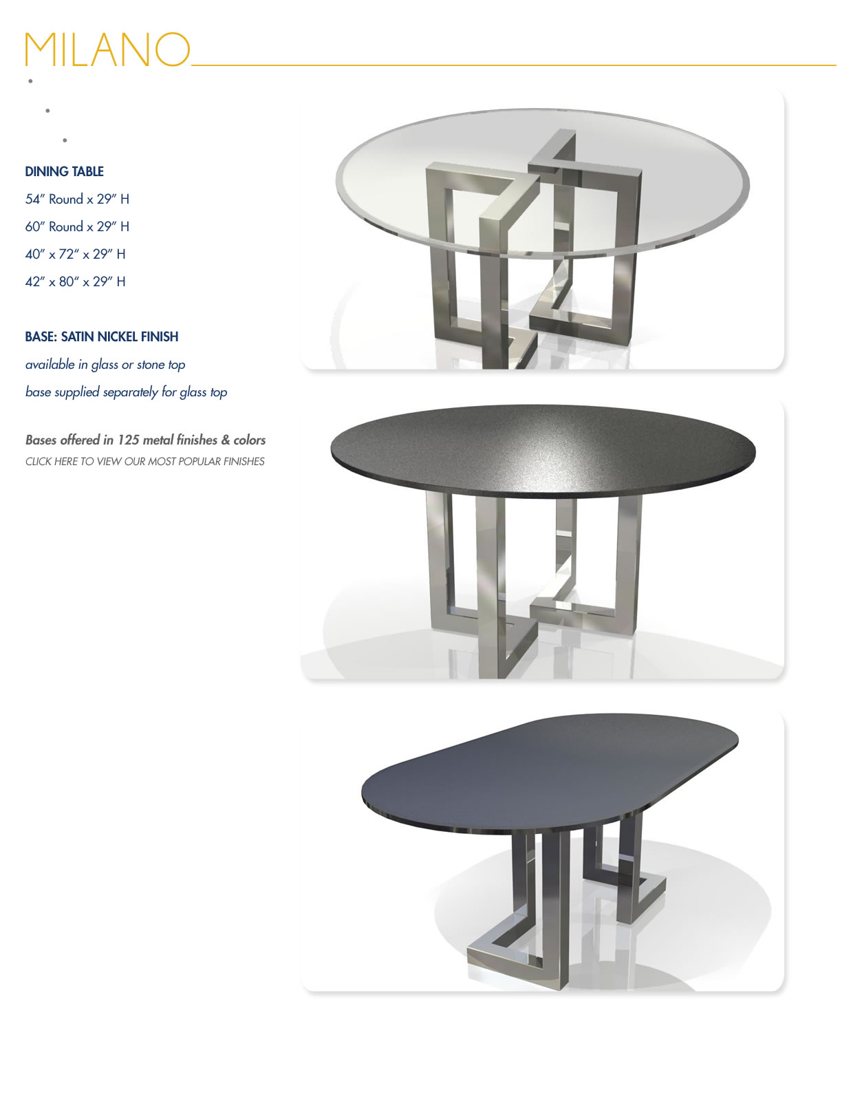 Modern furniture montreal dining room furniture for Dining room tables montreal